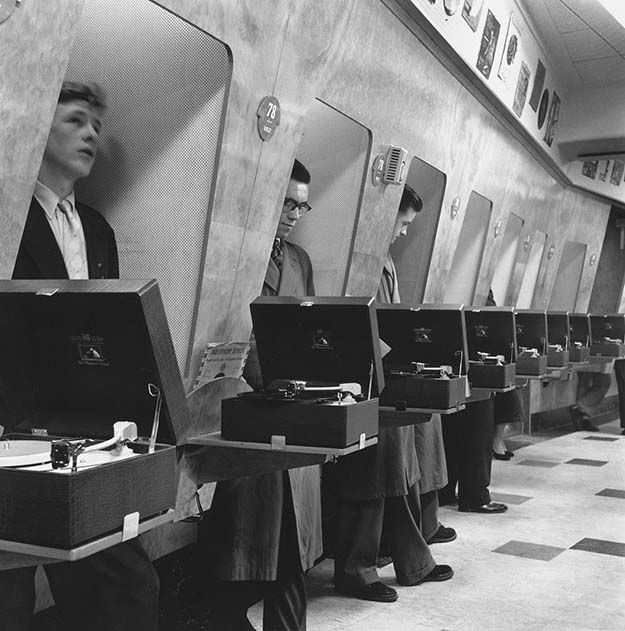 Listening Booths