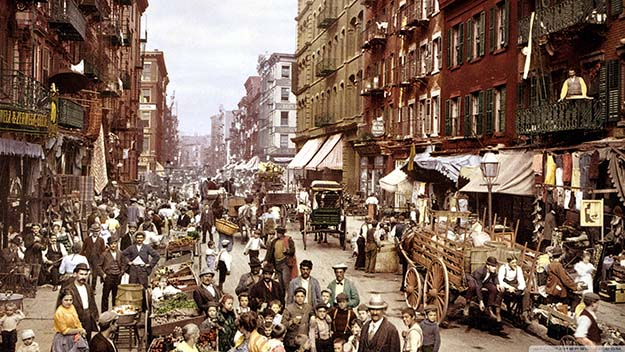 Slumming it in New York City In The 1800′s