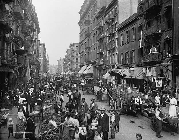 Little Italy, Mulberry Street, New York City