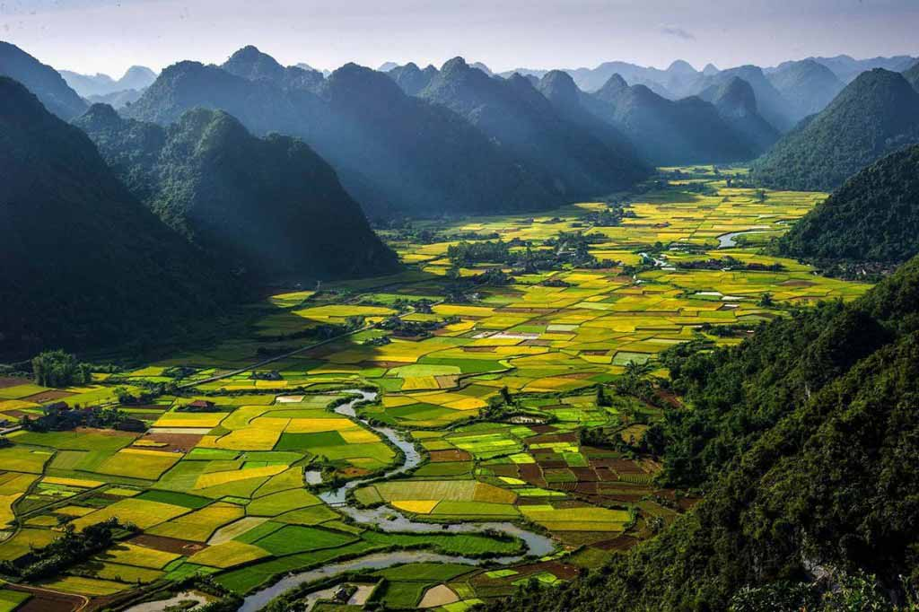 Lost valley in Vietnam