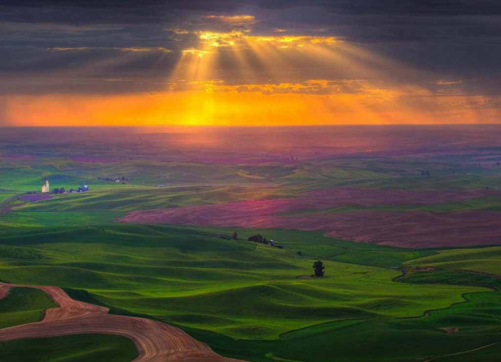 Steptoe Butte, Washington