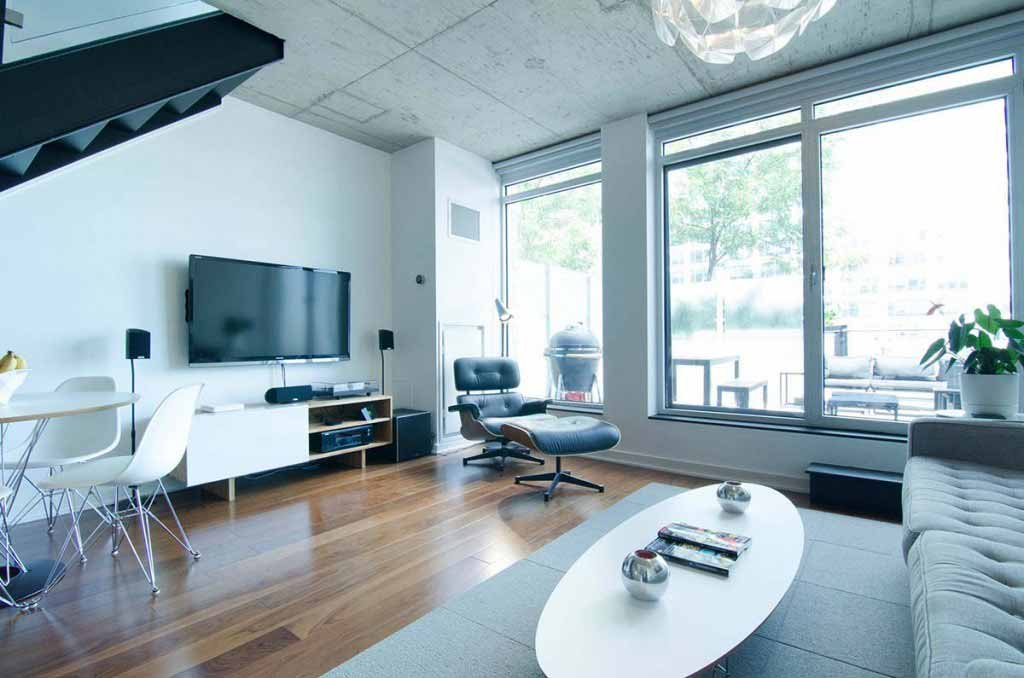 Modern condo in downtown Ottawa
