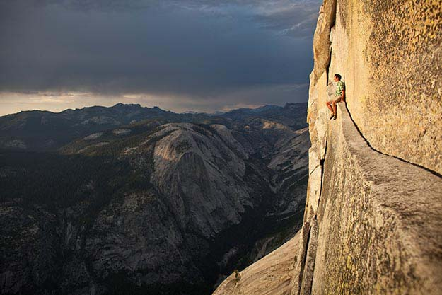 Alex Honnold at Yosemite