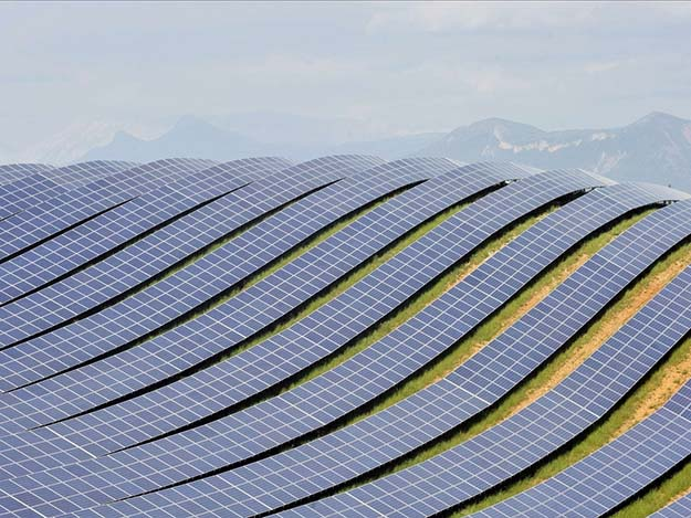 Solar Photovoltaic Farm – France
