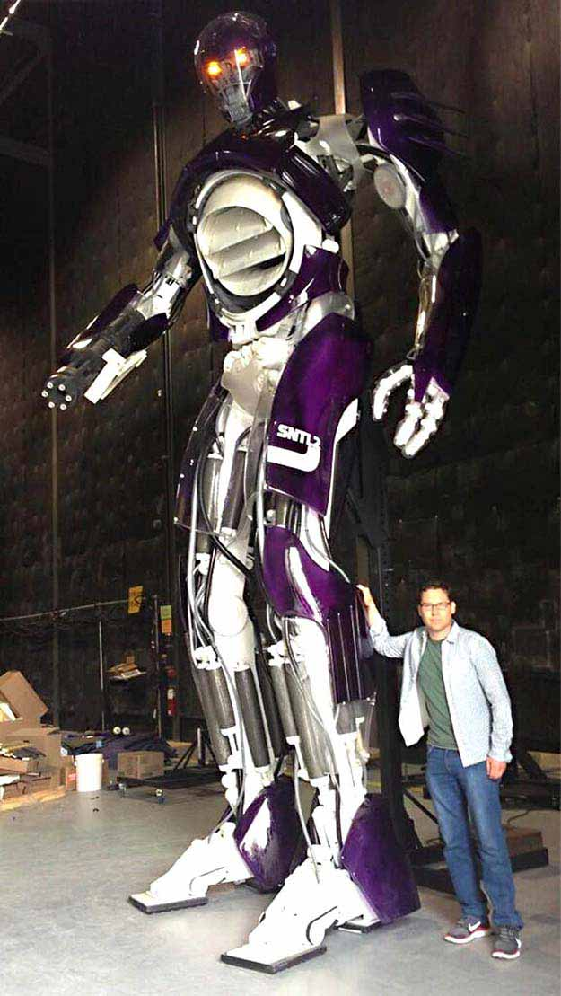 "the Sentinels from ""X-Men: Days of Future Past"""