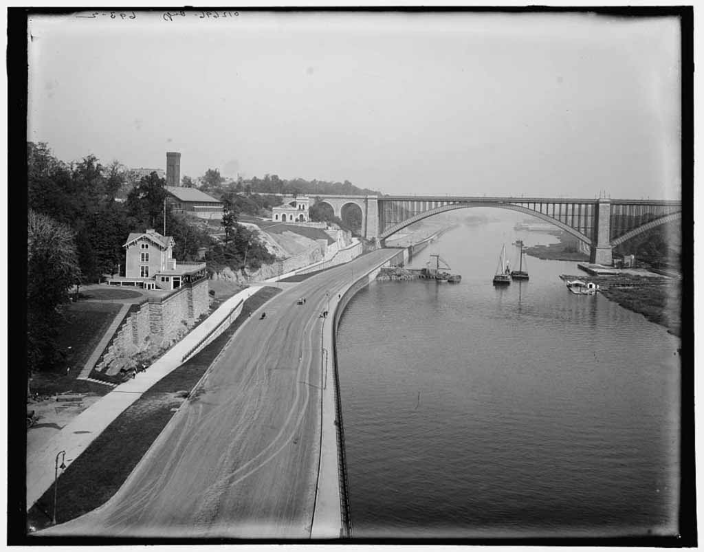 Washington Bridge and Harlem River