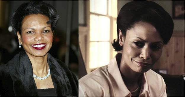 Condoleezza Rice (Thandie Newton in W.)