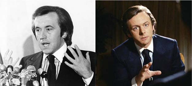David Frost (Michael Sheen in Frost/Nixon)