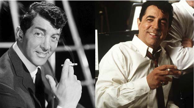 Dean Martin (Joe Mantega in The Rat Pack)