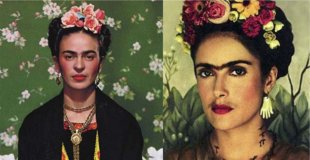 Frida Kahlo (Salma Hayek in Frida)
