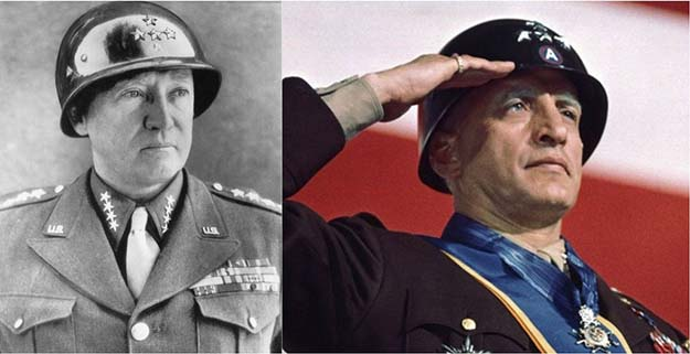 General George S. Patton Jr. (George C. Scott in Patton)