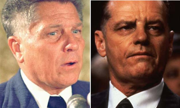 James R. 'Jimmy' Hoffa (Jack Nicholson in Hoffa)