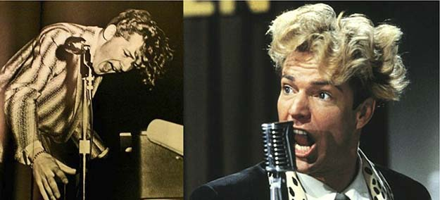 Jerry Lee Lewis (Dennis Quaid in Great Balls of Fire!)