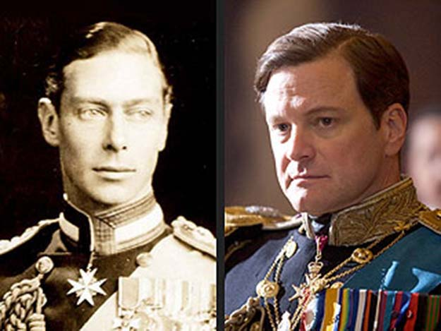 King George VI (Colin Firth in The King's Speech)