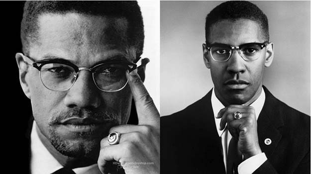 Malcolm X/Denzel Washington
