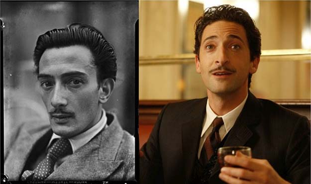 Salvador Dali (Adrien Brody in Midnight in Paris)