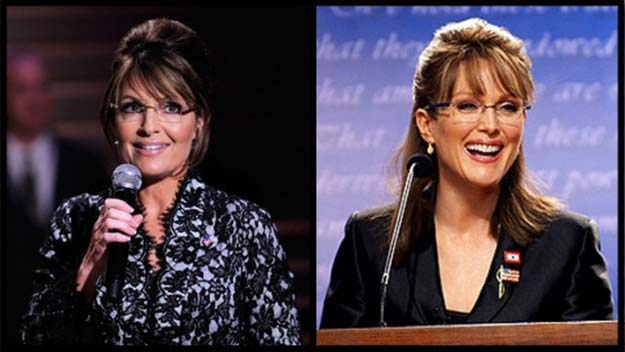 Sarah Palin (Julianne Moore in Game Change)