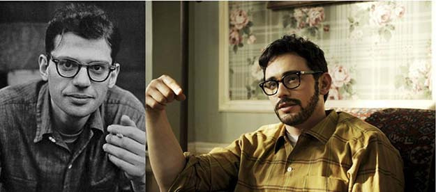 Allen Ginsberg (James Franco in Howl)