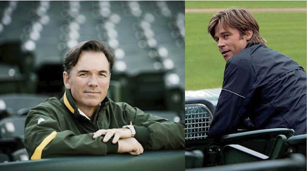 Billy Beane (Brad Pitt in Moneyball)