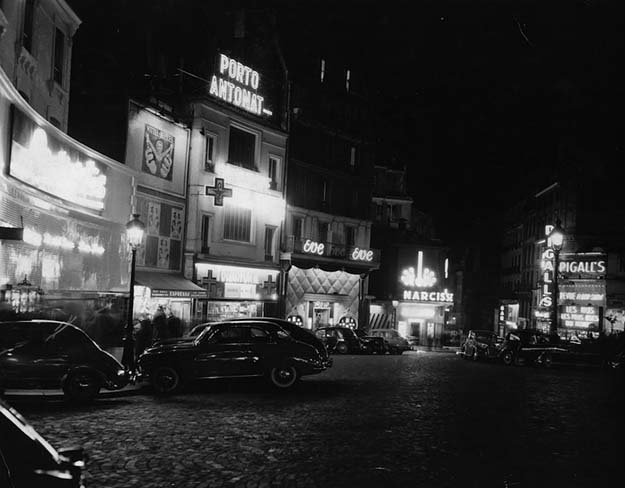 Pigalle in 1955.