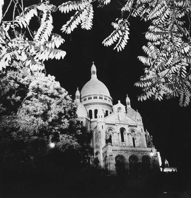 Sacre Coeur, the famous church at the top of Montmartre