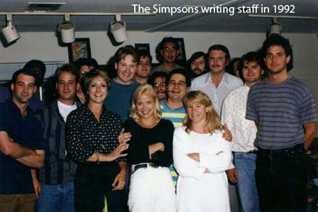 The Simpsons writters 1992.
