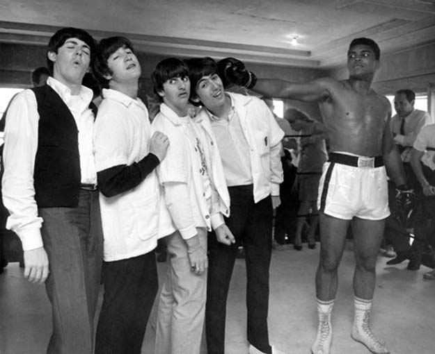 Muhammad Ali and The Beatles.