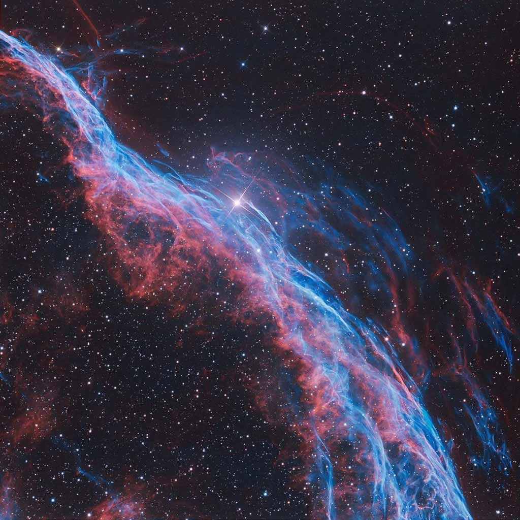 The Witch's Broom Nebula