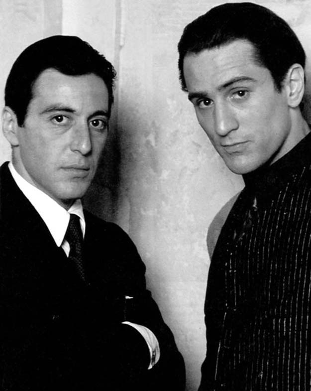 Al Pacino and Robery De Niro