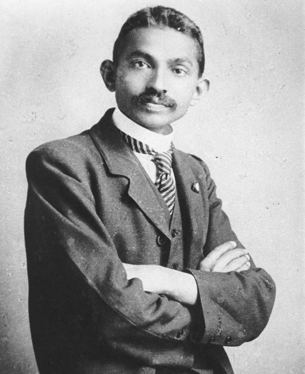Attorney at law, Mohandas Gandhi, 1893