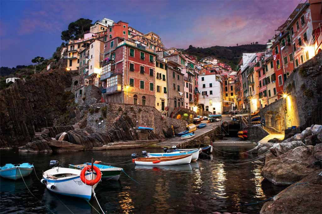 Riomaggiore is a village and comune in the province of La Spezia, Italy