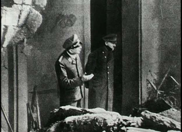 The last known picture of Adolf Hitler, April 30, 1945