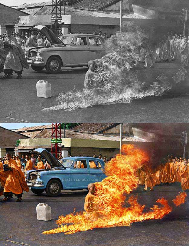 Thich Quang Duc, 1963