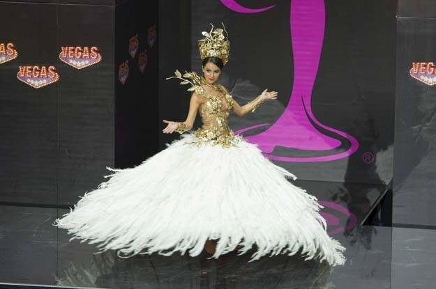 Miss Universe Pageant – Parade of National Costumes
