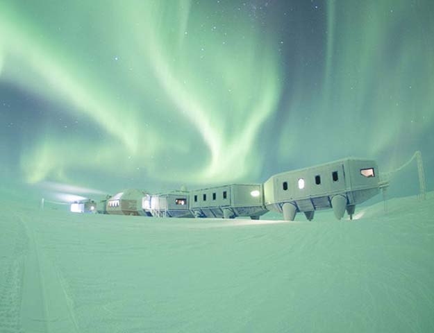 Haley IV Research Station in Antarctica