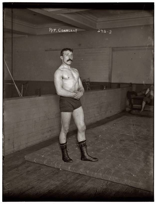 Irish-American Wrestler from 1909