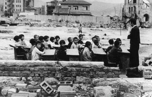 Japan one month after Hiroshima, 1945