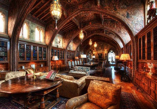The Hearst Castle Library