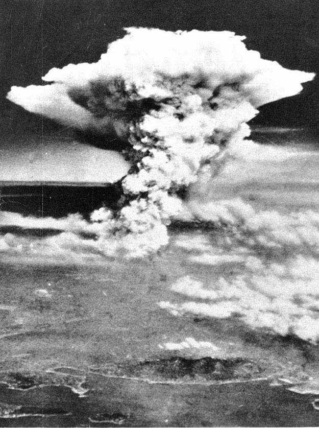 Atomic Bomb in Hiroshima, 1945