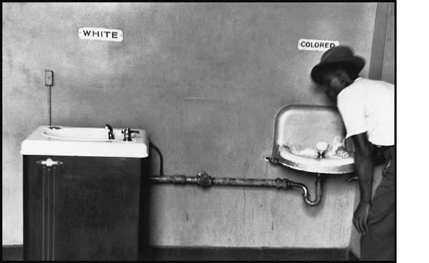 Segregated Water Fountains, 1950