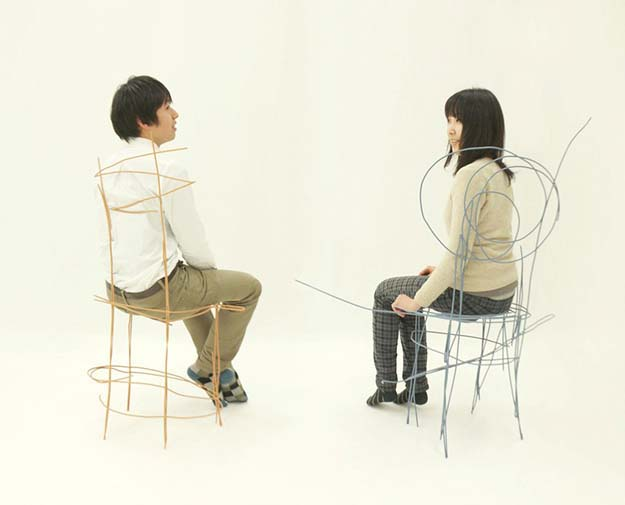 Furniture Designed To Look Like Rough Sketches
