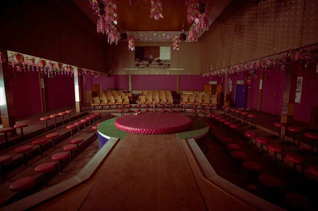 Abandoned illegal strip club in a resort town somewhere in the mountains of Japan