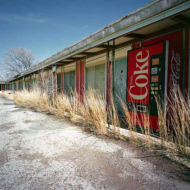 A long-forgotten motel on the plains of Texas
