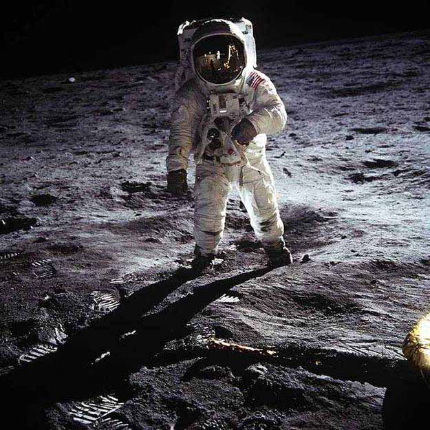 Man Walks on the Moon, 1969