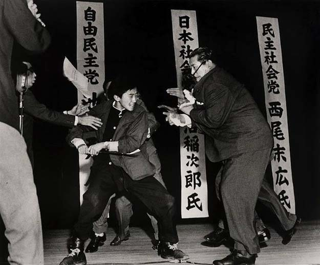 Assassination of Japan Socialist Inejiro Asanuma, 1960