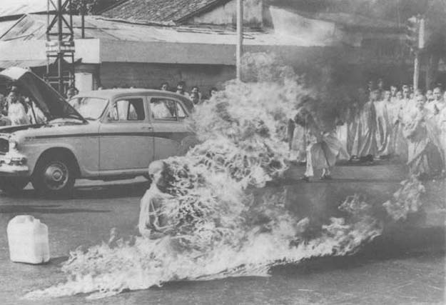 Burning Monk, 1963