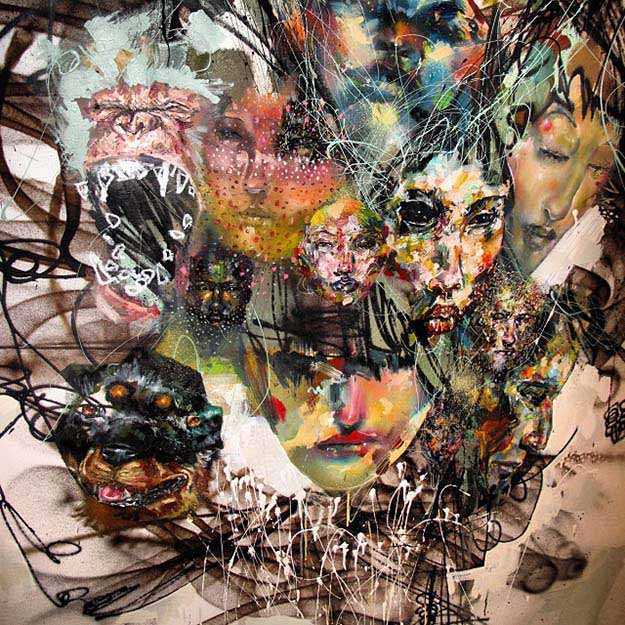 The Art Of David Choe Is Seriously Awesome