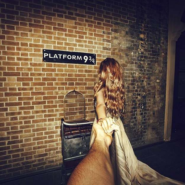 Platform 9 3/4 at Kings Cross Station – London