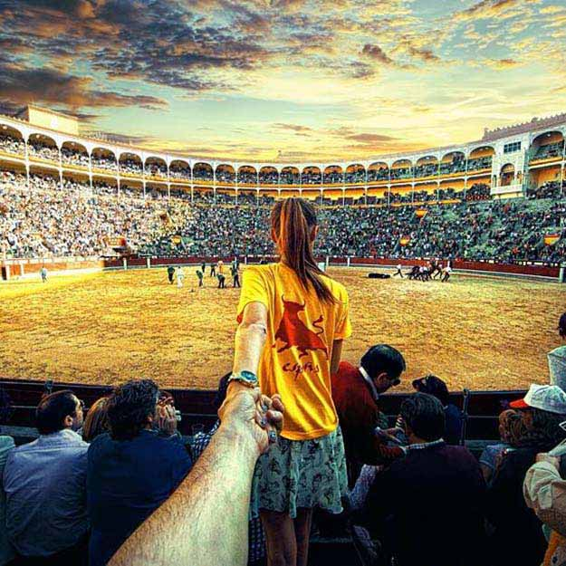 Corrida (bullfight) in Spain