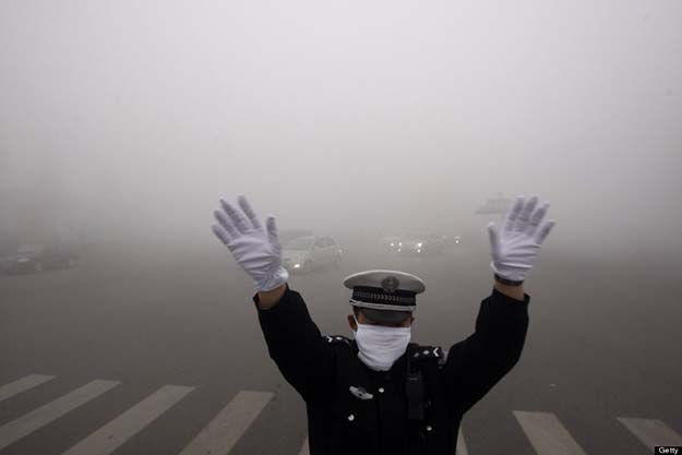 China discovers that pollution makes it really hard to spy on people – 20 million surveillance cameras are now useless